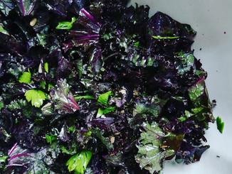 Kale en salade 🥬