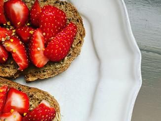 Petit déjeuner healthy et gourmande 🍓