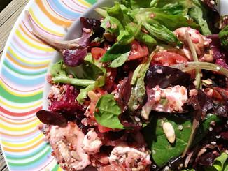 Salade colorée !