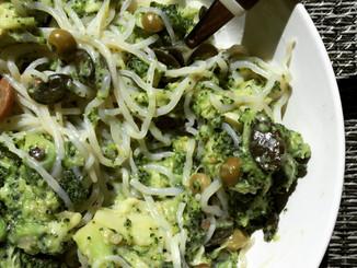 Nouilles gourmandes de konjac aux brocolis 🍜