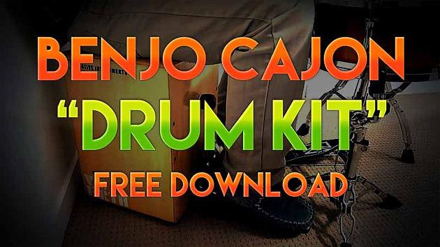 Banjo Cajon Drum Kit