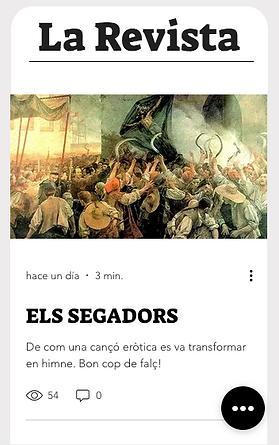 La Revista de l'Ateneu, en català