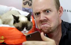 Kyle & Grumpy Cat