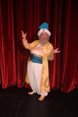 """The Sultan in """"Aladdin"""""""