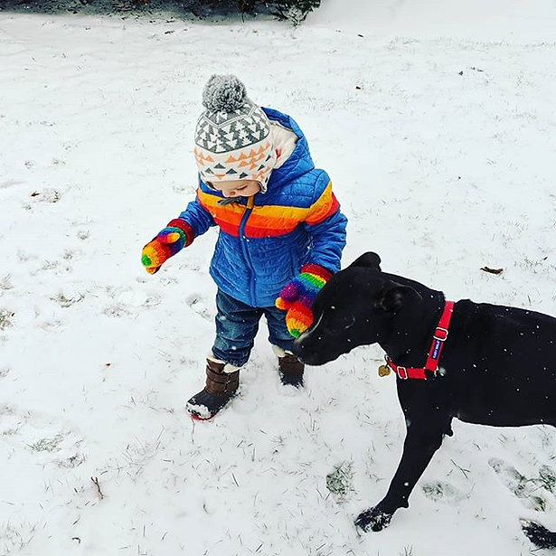 He's still not sure about the snow and b
