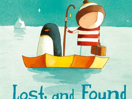 Toddler Takes: Oliver Jeffers and The Boy + His Penguin