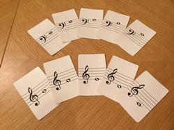 音符の勉強です