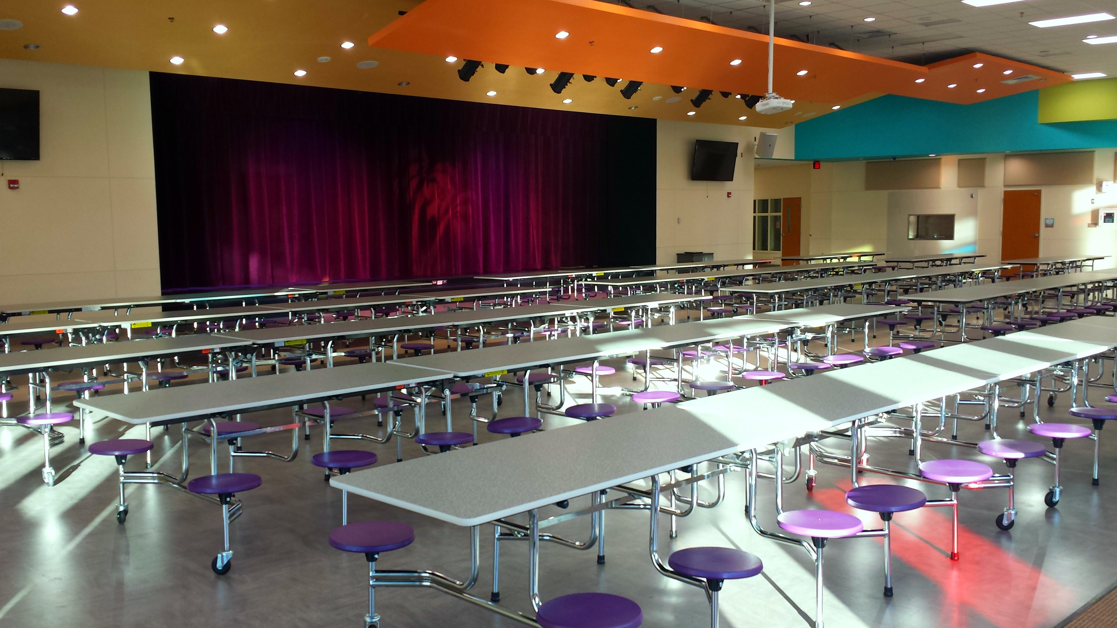 Cafe + Auditorium