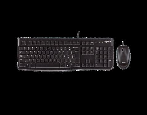Teclado e Mouse Logitech MK120