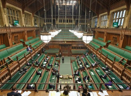 Temperature checks for UK MPs as they return to work