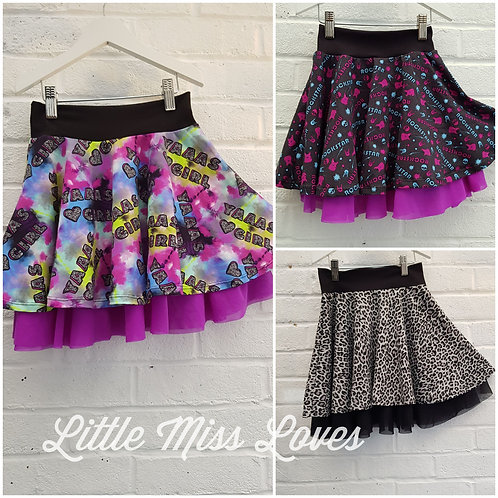 Lined Circle skirt