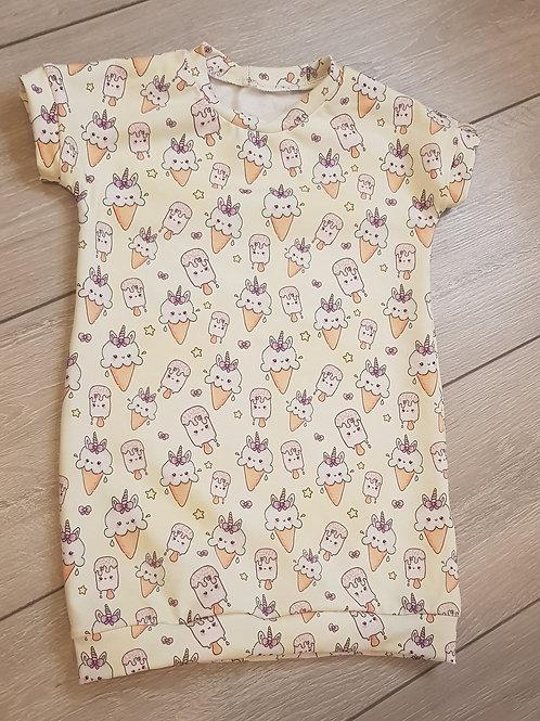 Tee shirt dress-Ice creams