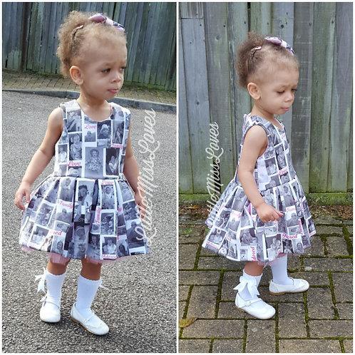 Photo Dress. Keepsake, personalised dress