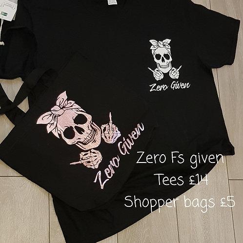 Zero given-skull print