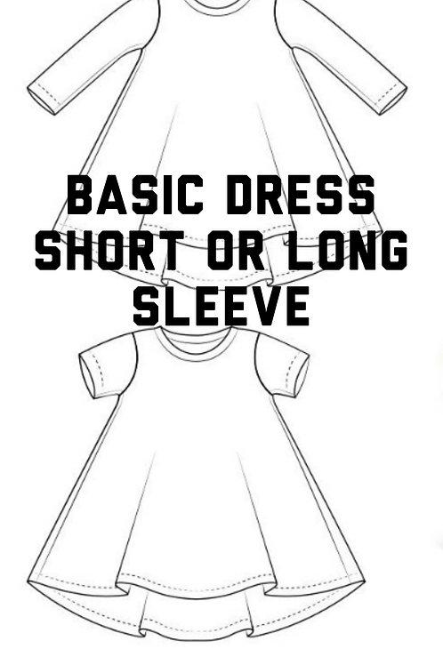 Dress -Preorder