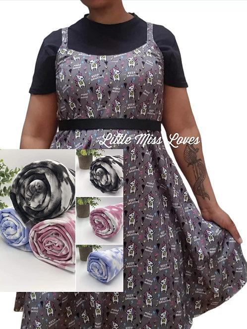 Summer fling dress- tie dye prints