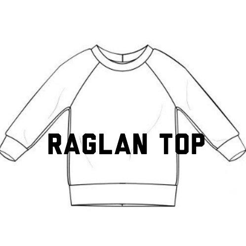 Raglan jumper -Preorder