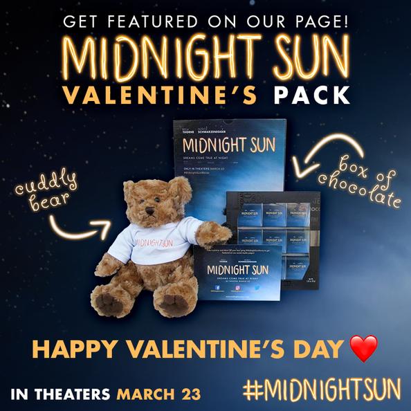 Midnight Sun Movie Valentine's Pack