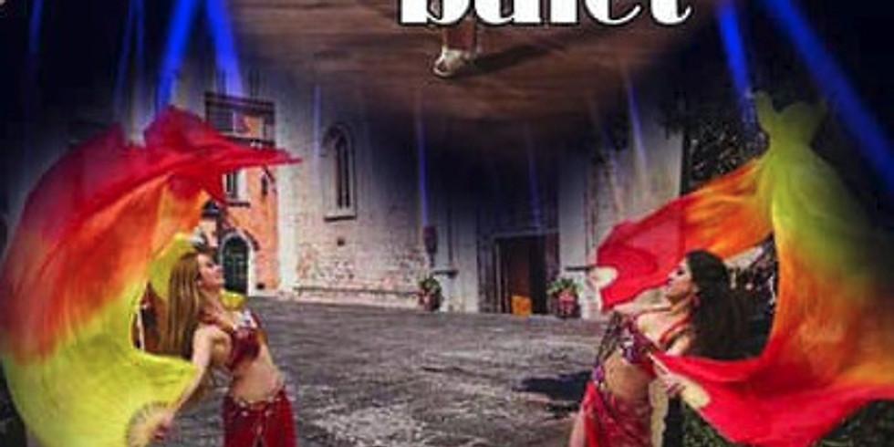 Ориенталско огнено шоу в Банско
