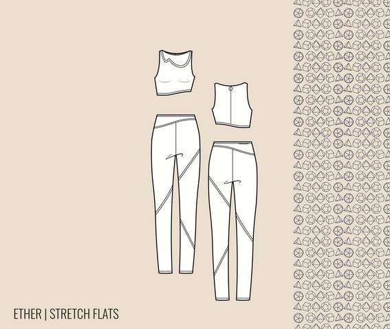 stretch flats