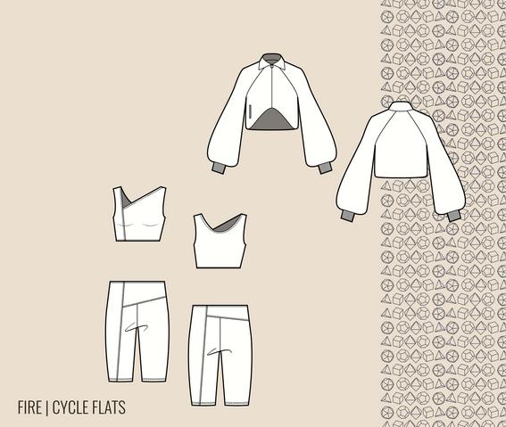 cycle flats