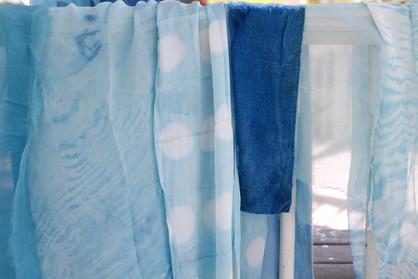 Shibori Indigo Dye