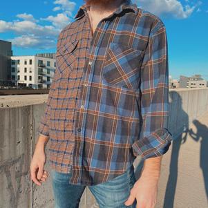 Vintage Split Flannel