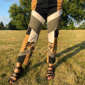 Patchwork Pants IV