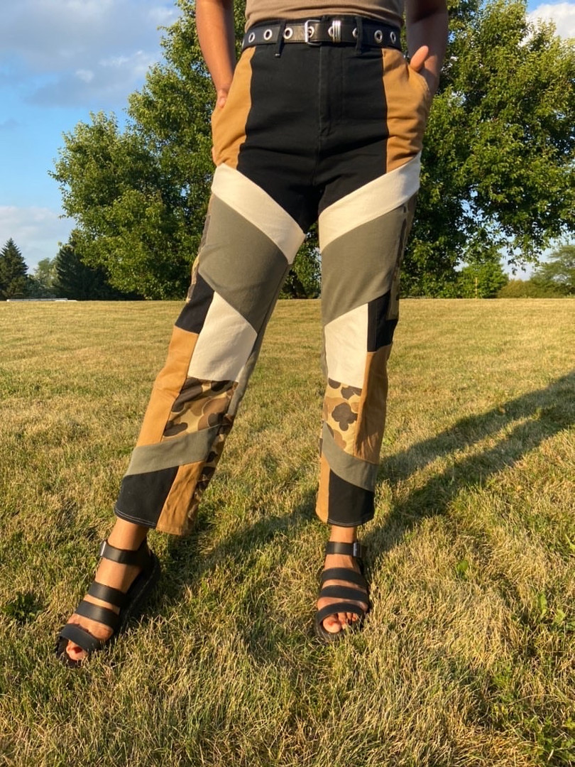 Patchwork Pants IV
