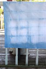 Itajime Shibori- Indigo Dye