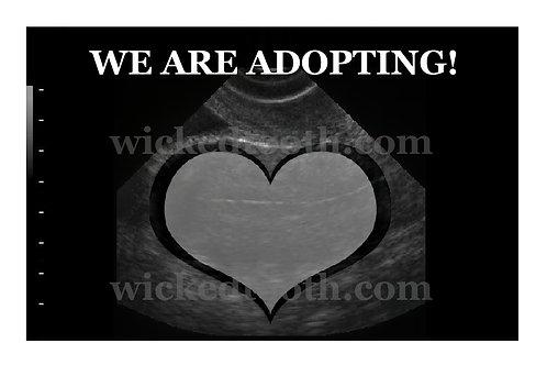 Adoption Ultrasound Announcement