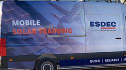 ESDEC Solar bus + Panasonic Soluções Fotovoltaicas + Bombas de Calor