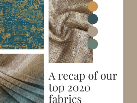 Top 5 fabrics of 2020.