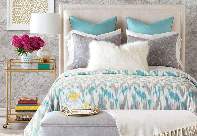 Eloise luxury bedding collection by Eastern Accents