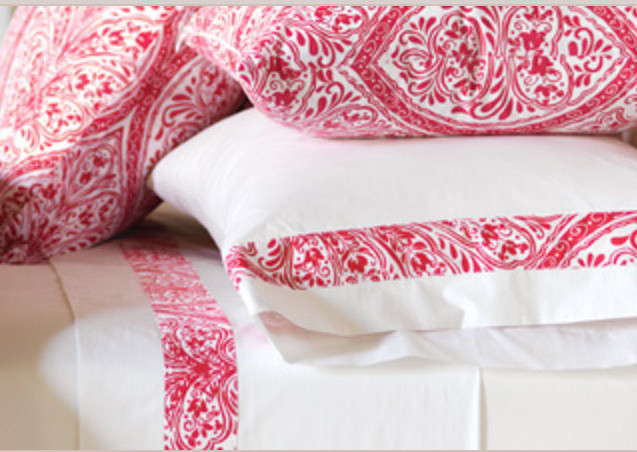 From our Adelle fine linens program, by de' Medici