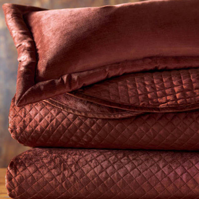 From our Lucerne collection of velvet accessories, by Eastern Accents