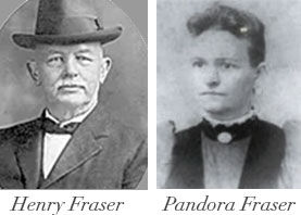 Henry Fraser and Panora Fraser, original owners of Pandora's Manor luxury boutique hotel in High Point, North Carolina.
