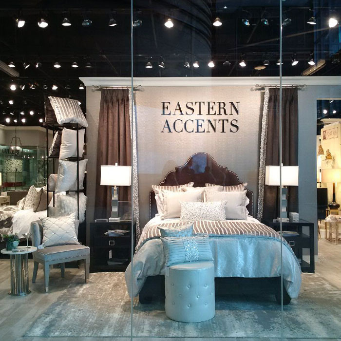 Eastern Accents Luxury Bedding Showroom Las Vegas Market