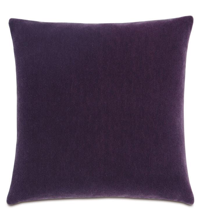 Bach Mohair Purple Pillow
