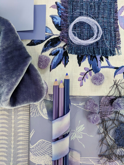 Pantone Ultra-Violet Colorboard