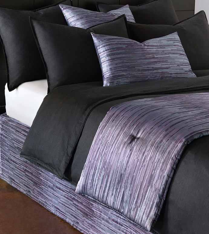 Pierce luxury purple bedding