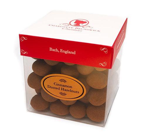 Cinnamon Dusted Hazelnuts