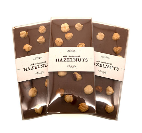 Hazelnut ~ Milk Chocolate Bar