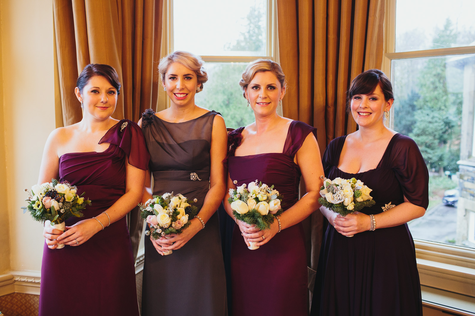 lake district wedding make up
