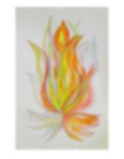 Plamen energetický obraz