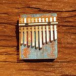 Rustic driftwood kalimba #1