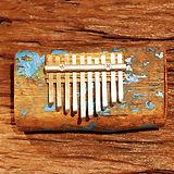 Rustic driftwood kalimba #3