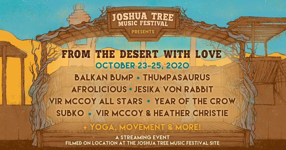 Joshua Tree Music Festival 2020