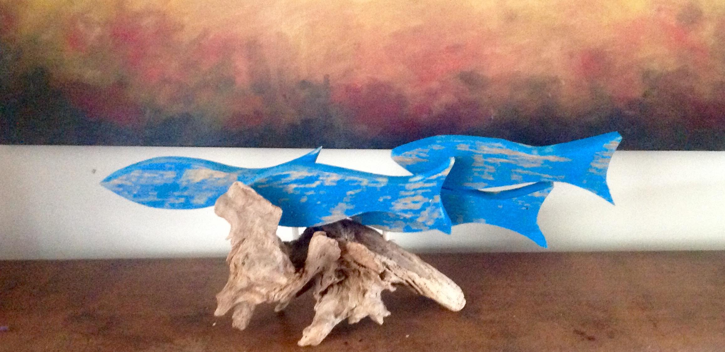 Fish on Driftwood