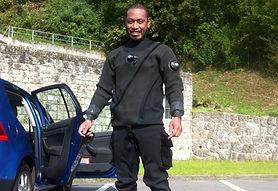 Jone Waitaiti Dry Suit Instrutor